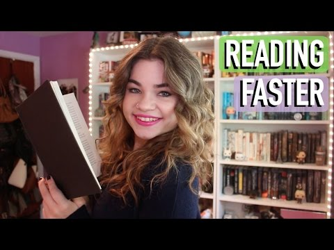 How To Read Faster!