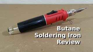 Download Gas Soldering Iron Review Video