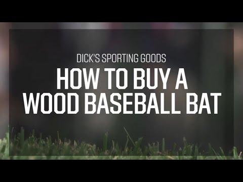 ProTips: How to Buy a Wood Baseball Bat
