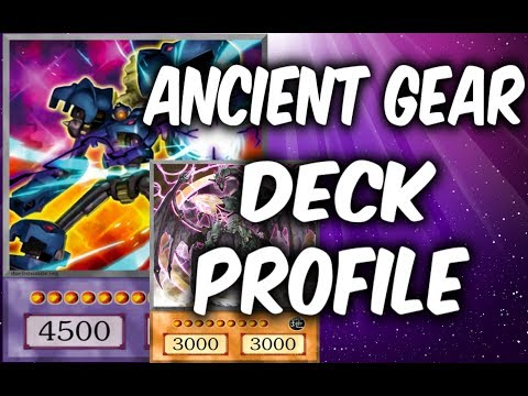 Yugioh ANCIENT GEARS Deck Profile! /w LINKS Deck (Yu-gi-Oh Competitive Deck Build)