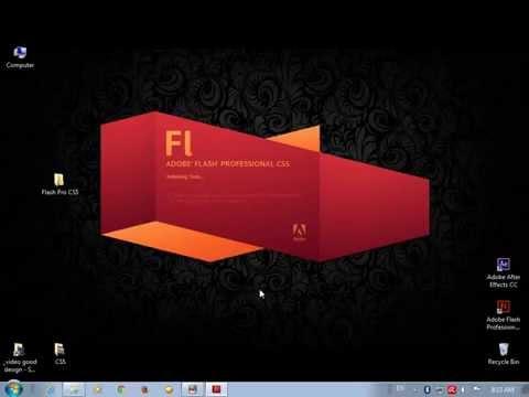 Download and Install Adobe Flash CS5 تحميل وتثبيت برنامج ادوبى فلاش