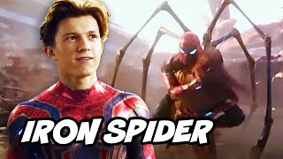Avengers Infinity War Spider-Man Iron Spider Armor Theory