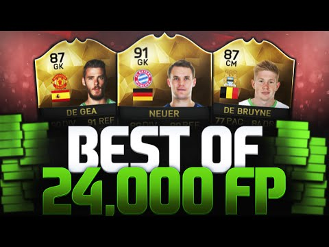 BEST OF 24K FIFA POINTS WITH INFORM!!! FIFA 16 ULTIMATE TEAM