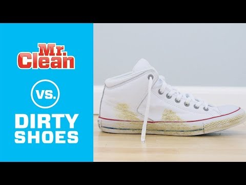 Quick and Easy: Cleaning Shoes | Mr. Clean®