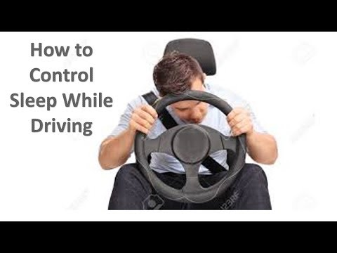 How to Control sleep while driving