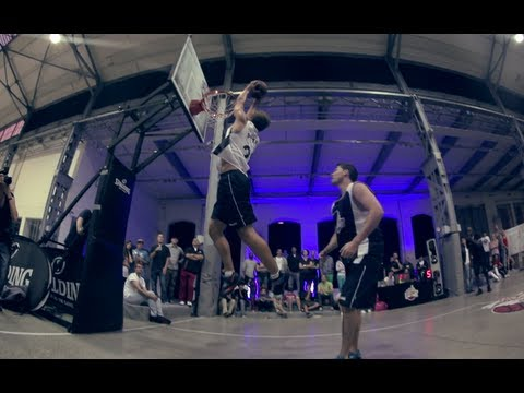 1-on-1 Basketball - Red Bull King of the Rock 2012 Austria