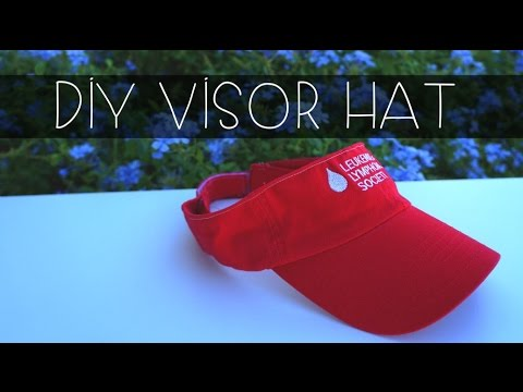 How to | Make a visor hat out of a baseball cap (Part 1)