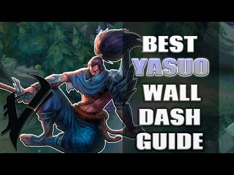 Yasuo Season 7 Wall Dash/Jump, VISION WITHOUT WARDS Part 2 /w Vesuvia