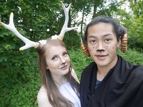 diy costume horns
