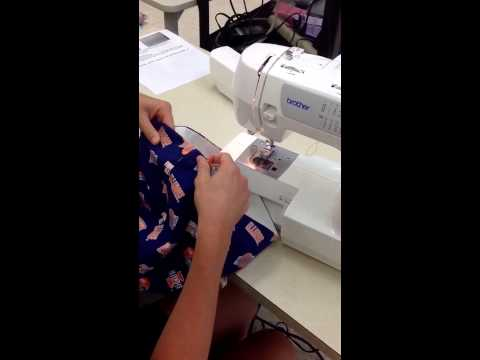 Sewing Line on Right Side of Fabric