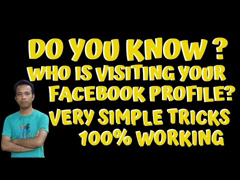 How To Know Who Is Visiting My Facebook Profile | Facebook Profile Viewers II 100% Working