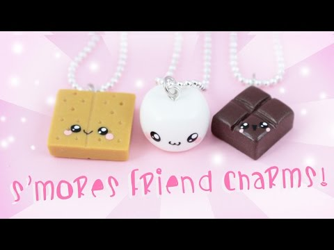♡ DIY S'mores Friendship Charms ♡ | Kawaii Friday