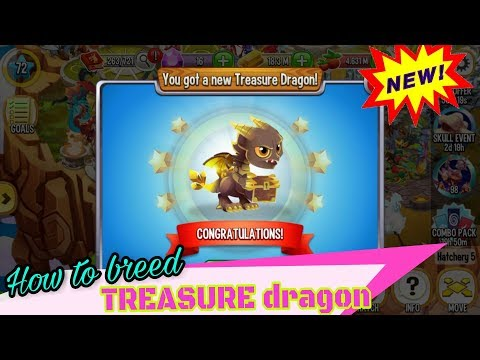 how to breeding TREASURE dragon - dragon city game
