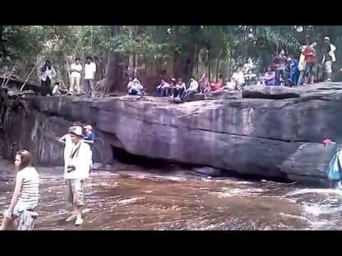 Cambodia Tourism Places 2(Kulen Mountain)