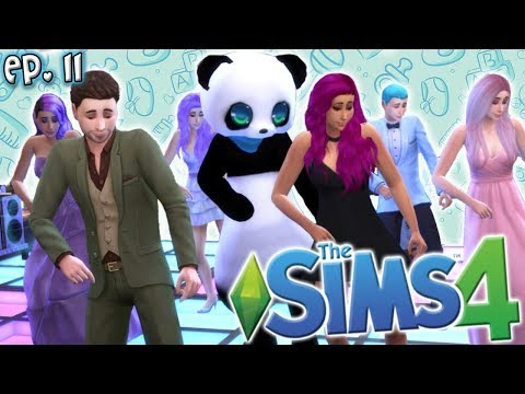 GOING TO PROM!! - The Sims 4: Raising YouTubers Miniseries - Ep 11