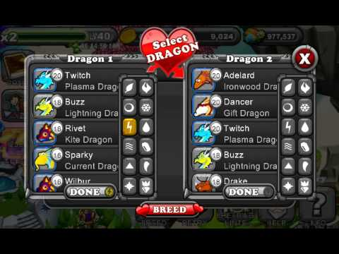 How to breed BLUE MOON DRAGON on dragonvale