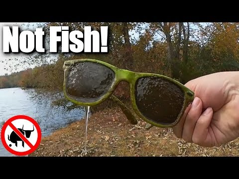 How to catch EVERYTHING BUT FISH! Fishing for Treasure and Trash