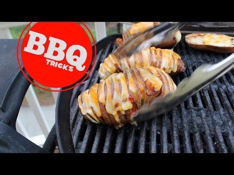 LOADED Hasselback Potato | Barbecue Tricks