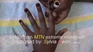 MTN Extreme Makeover Surported by Sylvia Owori
