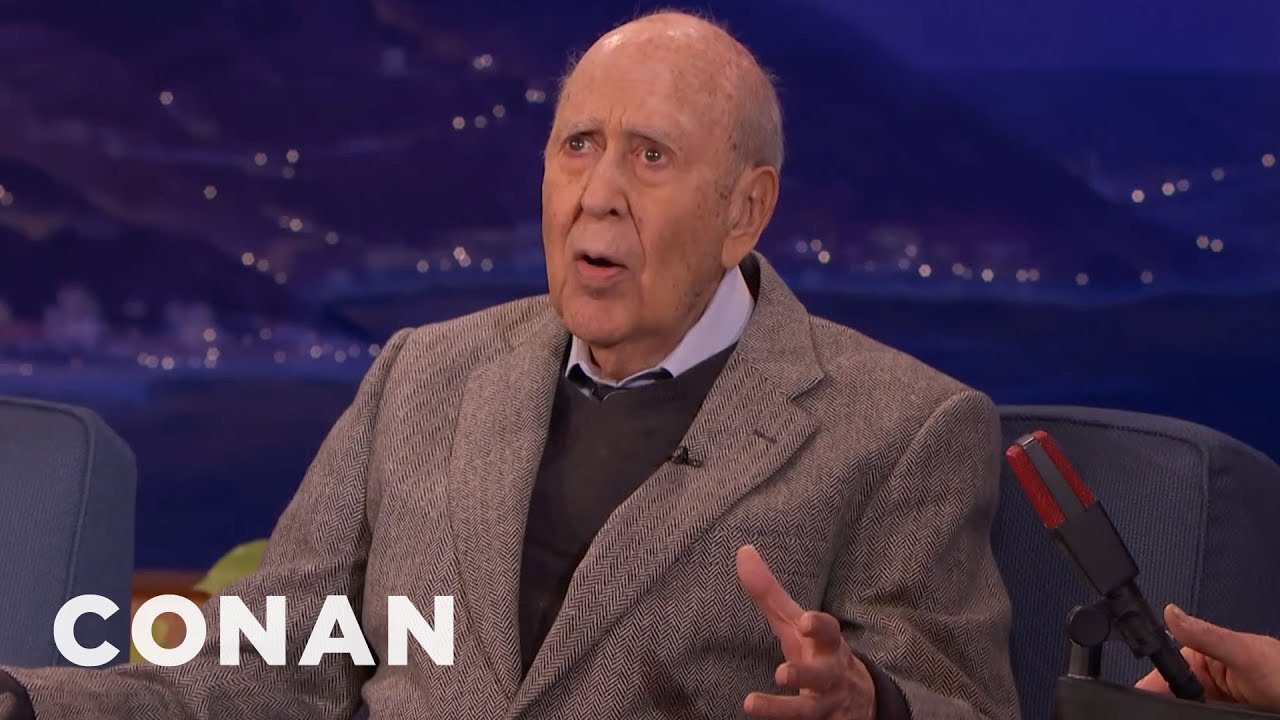 Carl Reiner Fell Down The Stairs | CONAN on TBS