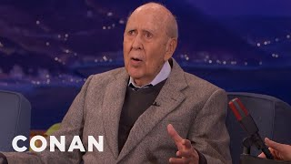 Carl Reiner Fell Down The Stairs  - CONAN on TBS