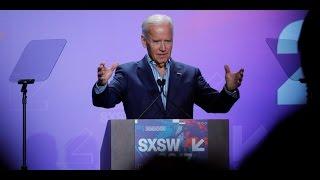Joe Biden calls for SXSW tech innovators to join cancer fight