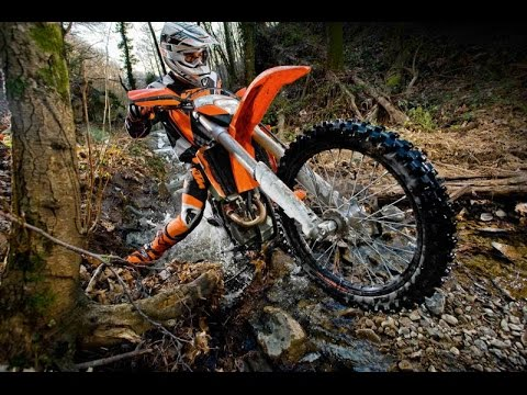 4 Stroke vs 2 Stroke Off Road Dirt Bike - Enduro Riding - Part 3