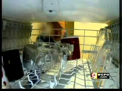 White film popping up on dishes out of dish washers