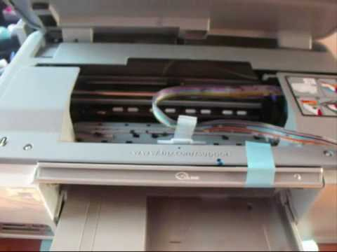 How to install a CISS onto a C5380 C6300 C6380 or any printer that uses HP 364.mp4