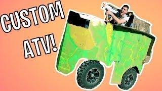 CUSTOM ATV TANK UPGRADES!
