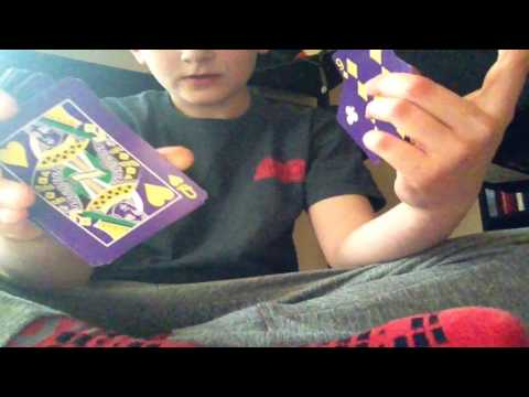 How to do the air shuffle with playing cards