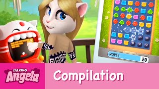 My Talking Angela - Gameplay Compilation