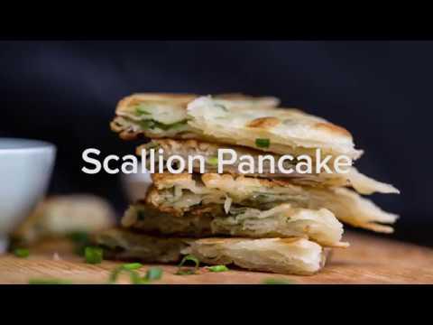 Scallion Pancakes (葱油饼)