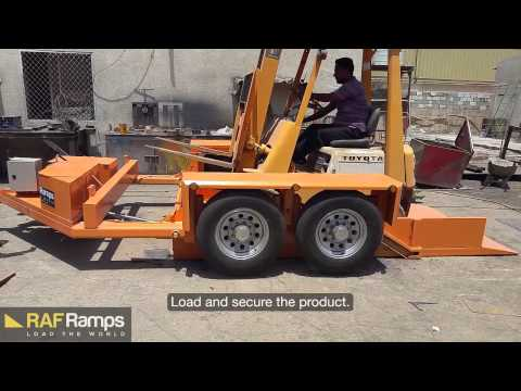 RafRamps Dropdeck | Utility | Industrial Trailer