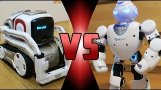 ROBOT DEATH BATTLE! - Cozmo VS Alpha 1S (ROBOT DEATH BATTLE!)