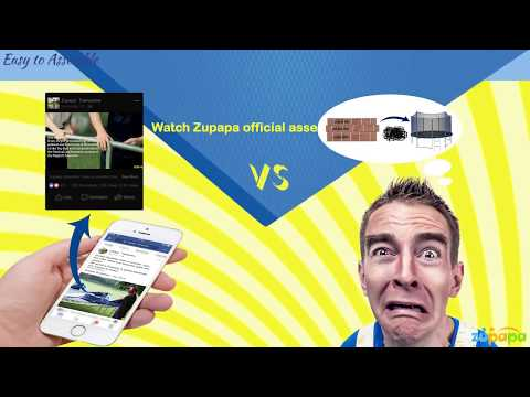 4 reasons for choosing Zupapa Trampoline in 3 minutes
