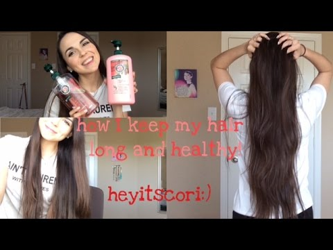 How I keep my hair long and healthy! :) Basic tips | heyitscori
