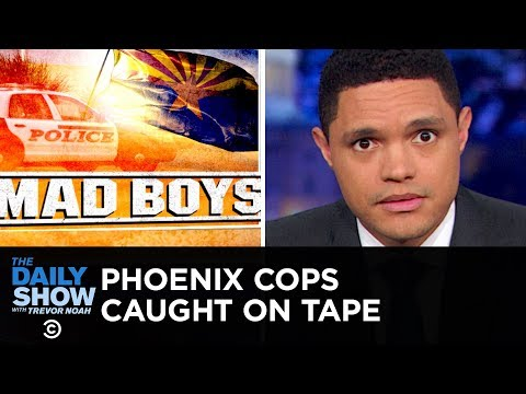 Xxx Mp4 Phoenix Cops' Extreme Response To Shoplifting Caught On Tape The Daily Show 3gp Sex