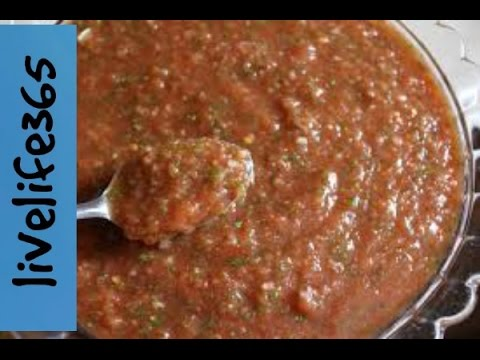 How to...Make Simple Salsa