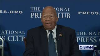 """Rep. Cummings: """"I want President Trump to come to my district."""""""