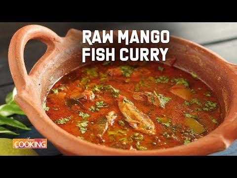 Raw Mango Fish Curry | Black Pomfret Fish Curry | Claypot Fish Curry