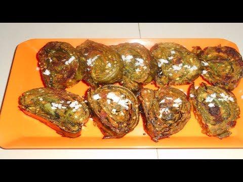 Alu Vadi (Maharashtrian Recipe)