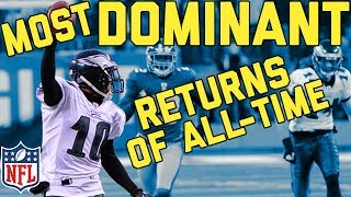 The Most Dominating Kick and Punt Returns for TDs of All-Time | NFL Highlights