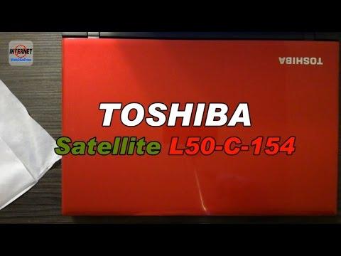 Toshiba Satellite L50-c-154 [Unboxing]