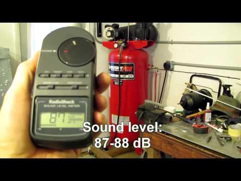 Air Compressor Noise Comparison