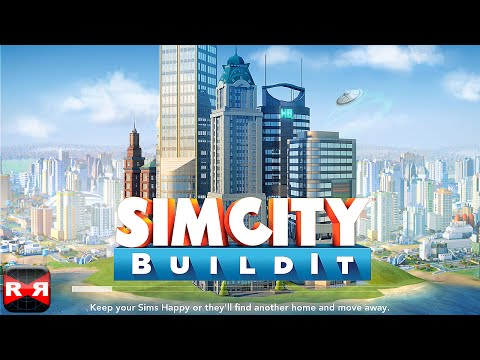 SimCity BuildIt (By Electronic Arts) - iOS / Android - Gameplay Video