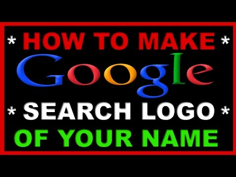 How To Place your Name In Google Search Engine // Make or Change Default Search Engine of Your Name