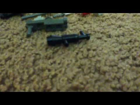 How to make a lego  black ops 2 weapons