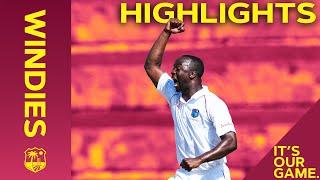 Windies vs India | 1st Test Day 1 2019 | Bitesize Highlights