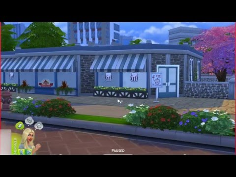 Sims 4 Get To Work: How To Build A Bakery Part One!